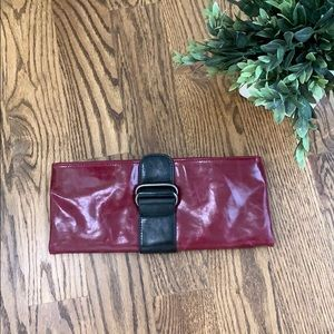 Shiraleah Maroon Foldable Purse Clutch